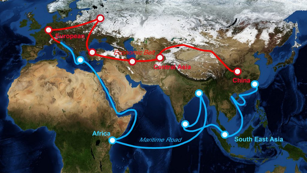 China's Belt and Road Initiative (BRI) offers once in a