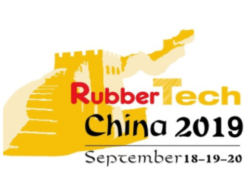 We invite you to visit our booth at the RubberTech China 2019!
