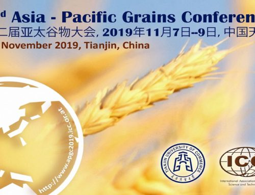 Come and visit our booth at the 2nd ICC Asia-Pacific Grains Conference